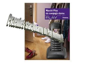 Play domowy Telefon stacjonarny w Play