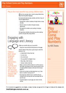Play School - Come and Play Numbers