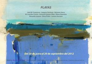 PLAYAS. Del 20 de junio al 20 de septiembre del 2012