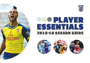 Player Essentials Season Guide