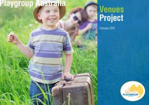 Playgroup Australia Venues Project