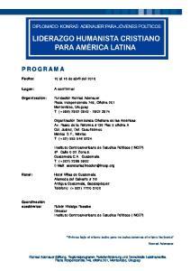 Plaza Independencia 749, Oficina 201 Montevideo, Uruguay T: (+598)
