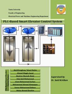 PLC-Based Smart Elevator Control System