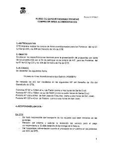 PLIEGO DE ESPECIFICACIONES TECNICAS COMPRA DE AIRES ACONDICIONADOS