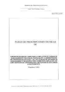 PLIEGO DE PRESCRIPCIONES TECNICAS DE