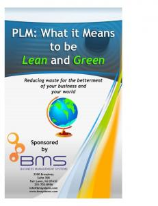 PLM: What it Means to be Lean & Green