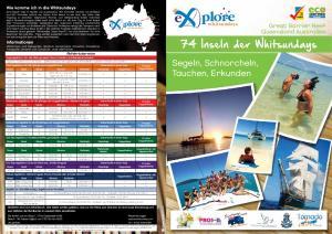 plore Segeln, Schnorcheln, Tauchen, Erkunden plore Great Barrier Reef Queensland Australien 74 Inseln der Whitsundays whitsundays