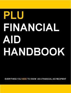 PLU FINANCIAL AID HANDBOOK