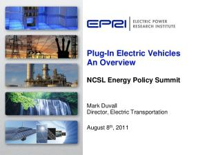 Plug-In Electric Vehicles An Overview
