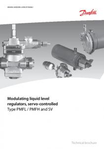 PMFH and SV. Technical brochure