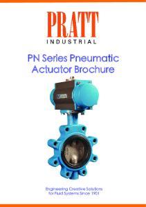 PN Series Pneumatic Actuator Brochure