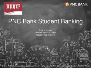 PNC Bank Student Banking