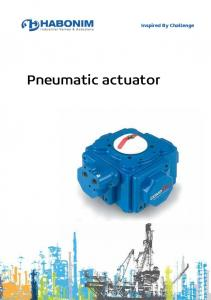 Pneumatic actuator. Inspired By Challenge