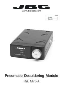 Pneumatic Desoldering Module