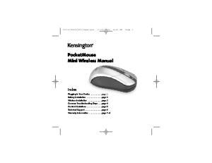PocketMouse Mini Wireless Manual