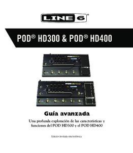 POD HD300 & POD HD400