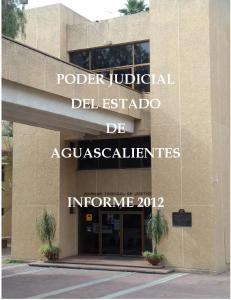 PODER JUDICIAL DEL ESTADO DE AGUASCALIENTES