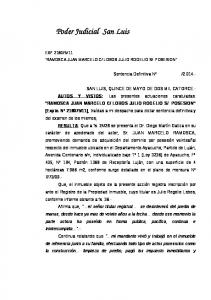 Poder Judicial San Luis