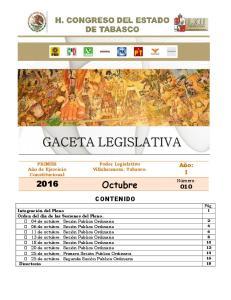 Poder Legislativo Villahermosa, Tabasco