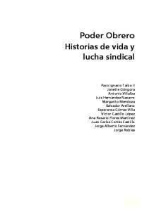 Poder Obrero. Historias de vida y lucha sindical