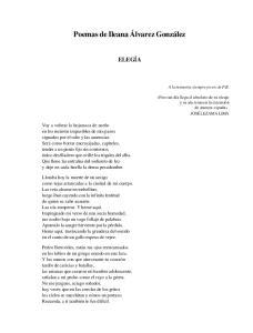 Poemas de Ileana Álvarez González