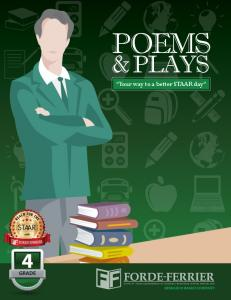 POEMS & PLAYS. Your way to a better STAAR day