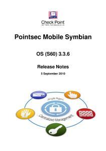 Pointsec Mobile Symbian