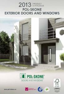 POL-SKONE EXTERIOR DOORS AND WINDOWS