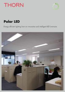 Polar LED. Energy efficient lighting from an innovative and intelligent LED luminaire