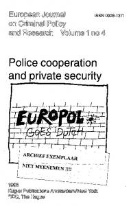 Police cooperation and private security