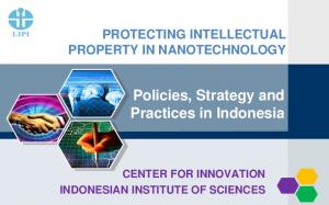 Policies, Strategy and Practices in Indonesia