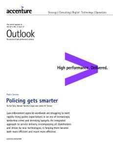 Policing gets smarter