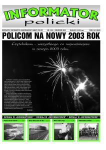POLICOM NA NOWY 2003 ROK