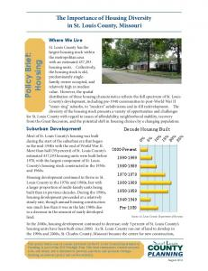Policy Brief: Housing
