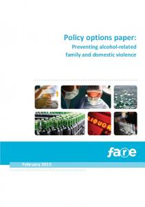 Policy options paper: