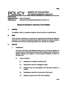 POLICY Related Entries: