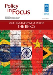 Policy YOUTH AND EMPLOYMENT AMONG THE BRICS