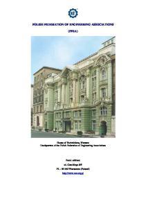 POLISH FEDERATION OF ENGINEERING ASSOCIATIONS (PFEA)