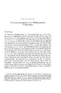 Polizeigesetzgebung in den Habsburgischen Niederlanden