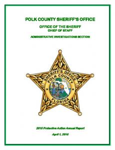 POLK COUNTY SHERIFF S OFFICE