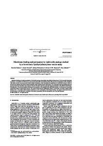polydiacetylene vesicle assay