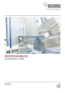 Polyethylen (RAU-PE)  Automotive Industrie