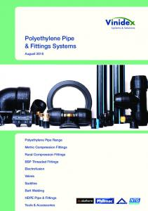 Polyethylene Pipe & Fittings Systems