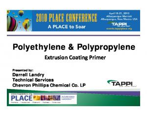 Polyethylene & Polypropylene
