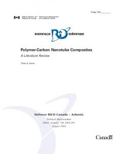 Polymer-Carbon Nanotube Composites