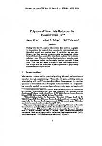 Polynomial-Time Data Reduction for Dominating Set