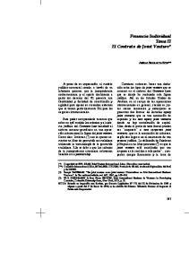 Ponencia Individual Tema II El Contrato de Joint Venture*