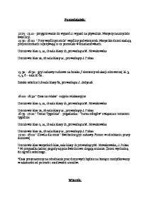 Poniedziałek: Uczniowie klas 0, 1a, 1b sala klasy 1b, prowadząca M. Nowakowska