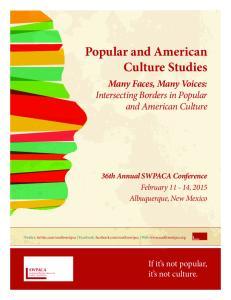 Popular and American Culture Studies