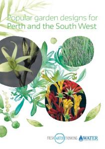 Popular garden designs for Perth and the South West